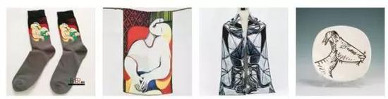 淘宝上各类有关毕加索作品的衍生品