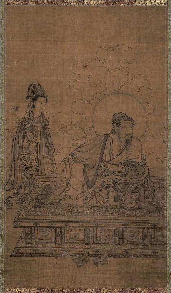 ▲李公麟 《维摩居士像》 京都国立博物馆藏