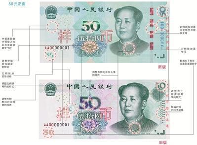 第五套人民币被称作颜值在线的人民币