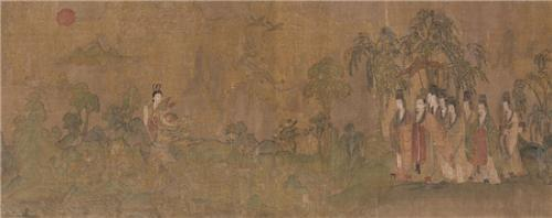 《洛神赋图》(图片来源:故宫博物院资料图)