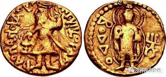 | 佛陀著名的佛陀金币,虽然磨损严重,且为1.88克的1/4第纳尔金币小面值。但是2017在纽约拍卖仍然以折合37万人民币成交。