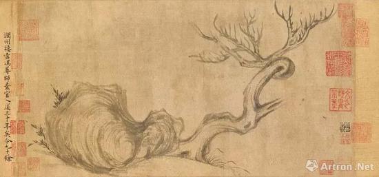 此水墨手卷为现时仅存的稀有苏轼画作之一,将于11月在佳士得香港拍卖中呈献