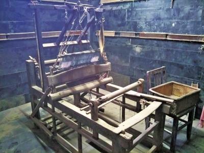 老式织布机