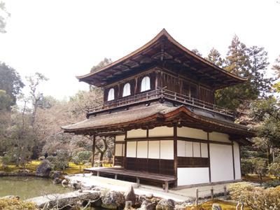 日本银阁寺一角