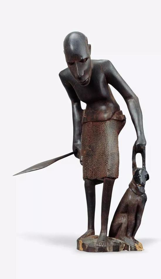 猎2 阿迪利亚诺(坦桑尼亚)2002年 37×20×22cm