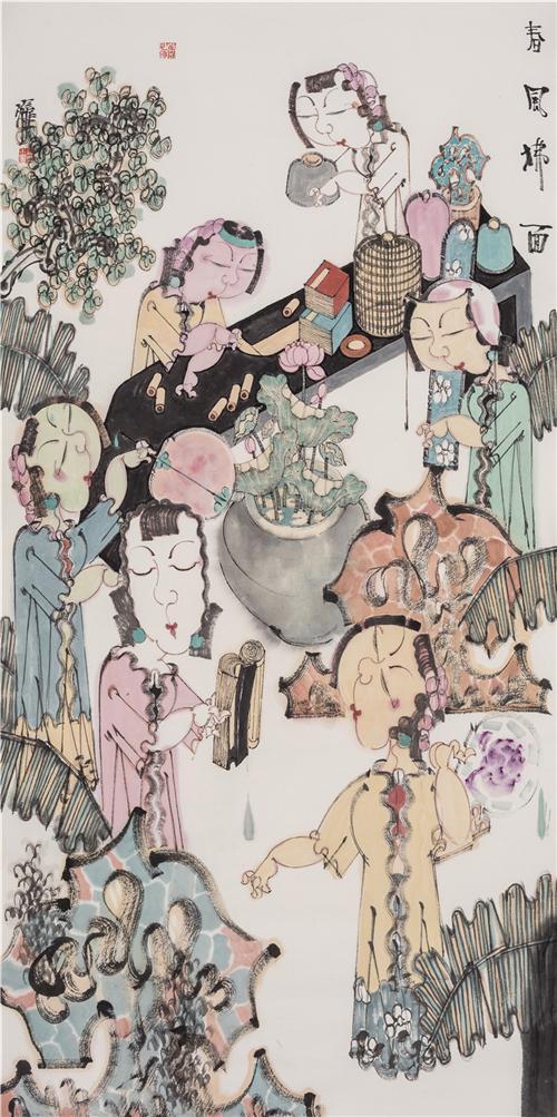 中国美术人物:著名画家赵锦龙