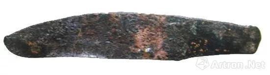 ▲ 甘肃东乡林家出土的青铜刀