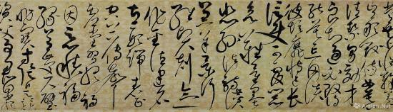 徽宗赵佶草书千字文 卷(局部)