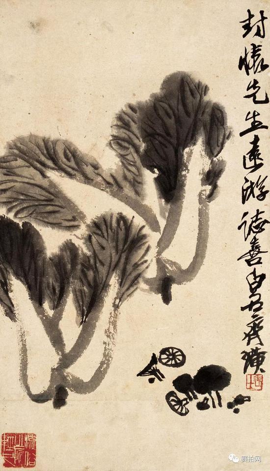 """张大千与齐白石皆为中国近现代著名的艺术大师,史称""""南张北齐""""。"""