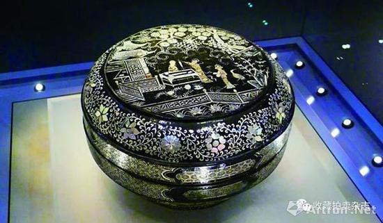 宋元时期螺钿漆艺的代表作品
