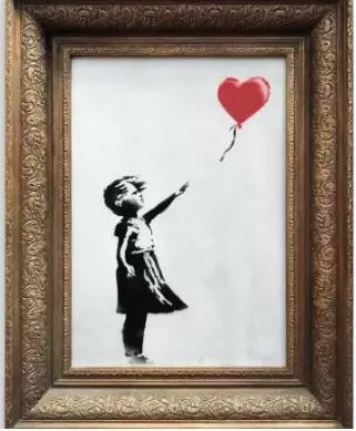 """Girl With Balloon"""