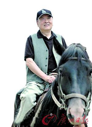 萧逸。 来源:广州日报 吴波摄