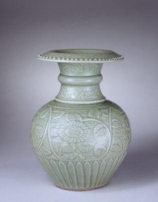 明代盘口瓶,北京故宫