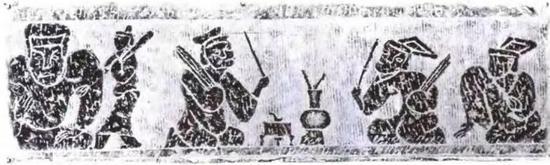 汉代投壶图