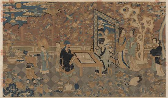 台北故宫博物院展出历代以雅集为主题的书画28件
