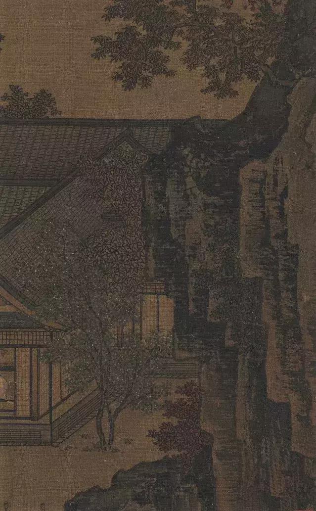 南宋 / 刘松年 /《四景山水图》局部