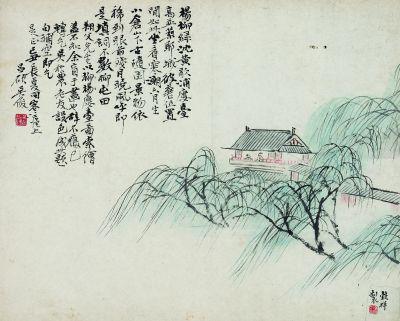 袁祖志与《杨柳楼台图》