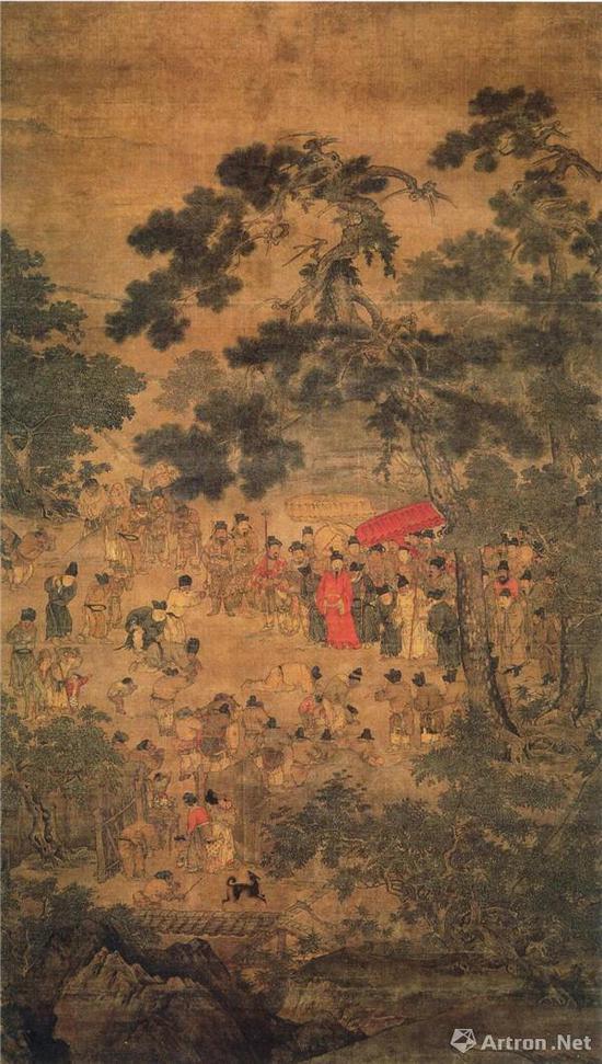 《望贤迎驾图》轴 上海博物馆