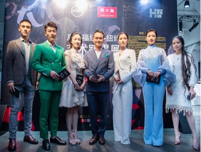 (从左到右)张赫、乔大韦、姜梓新、范向东、天爱、斓曦、姜英