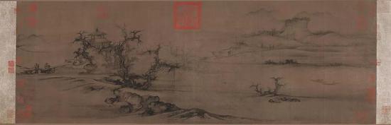 北宋 / 郭熙 /《树色平远图》
