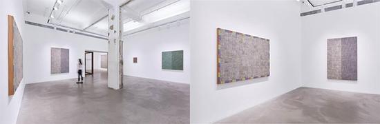"""立木画廊的麦克阿瑟 · 比尼恩展览""""Hand:Work II""""现场图片。图片由艺术家及立木画廊纽约,香港及首尔;Massimo De Carlo画廊米兰,伦敦及香港提供。拍摄:Owen Wong"""
