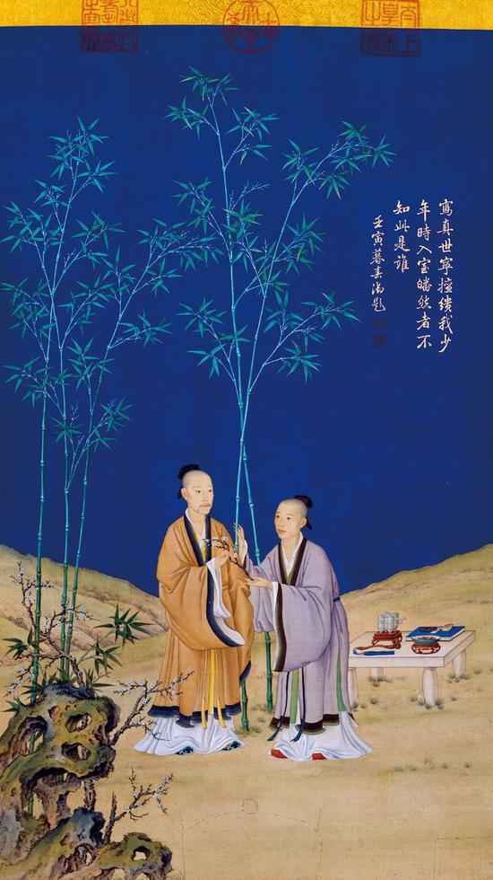 重返作品:郎世宁《平安春信图》的创作及其他
