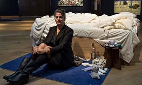 """翠西·艾敏和""""她的床"""""""