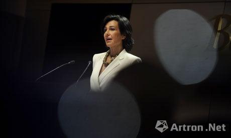 Ana Patricia Botín, Photograph: Pierre-Philippe Marcou/AFP