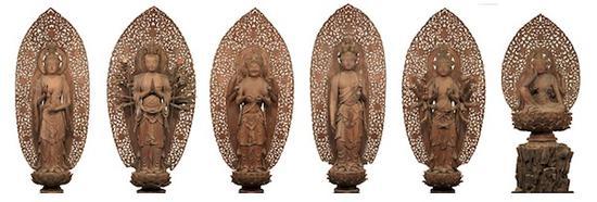 重要文化遗产 六观音菩萨像
