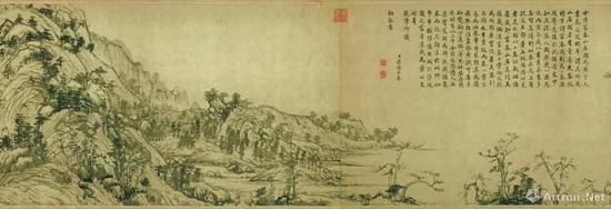 清宫书法名画收藏的鼎盛期与妥善保管的文物