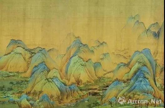 北宋 王希孟 《千里江山图》局部