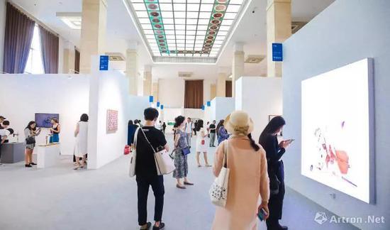"""一号馆:北京当代·艺术展 北京当代""""未来""""单元 图片:北京当代"""
