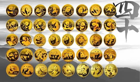熊猫金币发行40周年纪念标识征集公告
