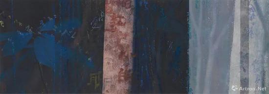 拍品编号233储楚(中国,1975年生) 《人间词话 — 玄蓝之蓝》