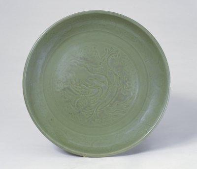 元龙泉窑盘,北京故宫