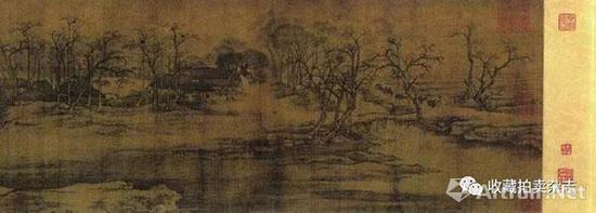 张择端《清明上河图卷》(局部),24.8×528.7厘米,北京故宫博物院藏