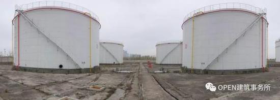 改造前的油罐