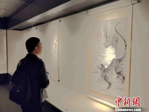 130余件齐白石原作在其家乡湖南湘潭展出。 付敬懿 摄