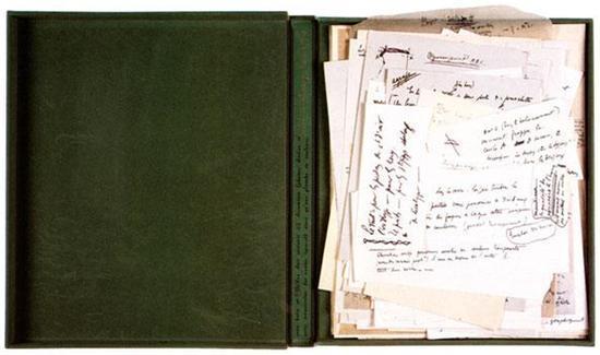 杜尚:《绿盒子》,1934