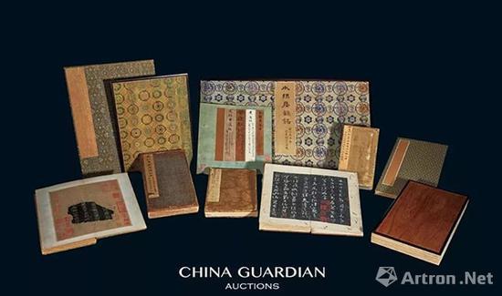 安思远藏善本碑帖十一种成交价:RMB 192,625,000