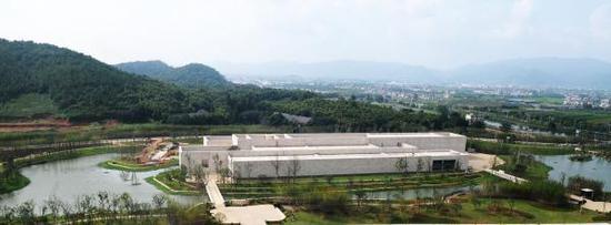 良渚博物院全景