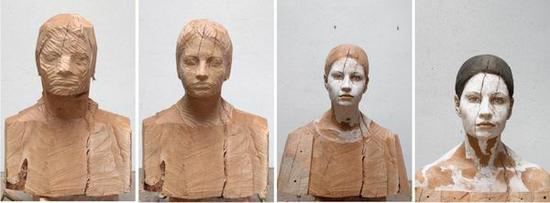 布鲁诺·瓦尔波特,《茱莉亚》(过程),梨木,2012