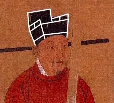 古画中的宋代官帽侧面看起来确实像一把椅子