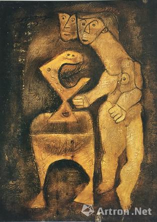 宋永平作品《惊奇》 1993