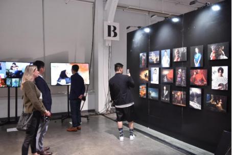 周大福纽约·纽约艺术跨界展现场