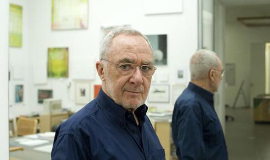 艺术家格哈德·里希特图片来自网络