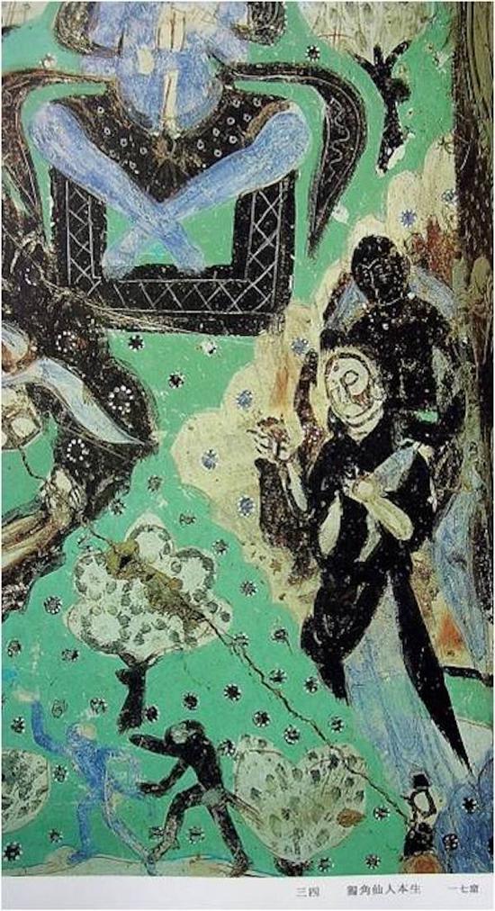 """克孜尔石窟第17窟,是《大唐西域记》中""""驾肩而还""""细节在克孜尔地区的体现"""