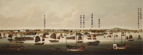 《广州港全景图》