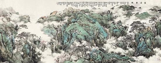 18白云乡 昆仑胜境 镜心 RMB 1,000,000-2,000,000
