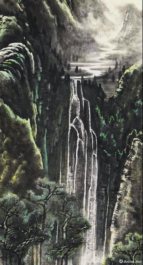 李可染 《千岩竞秀万壑争流图》 1.265亿元 中国嘉德拍卖